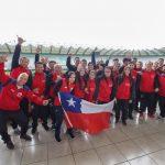 Con la presencia de más de 200 deportistas se inauguró el Panamericano de Racquetball en Temuco