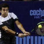 Christian Garin cayó en los octavos de final del Challenger Cachantun Open y sufre una lesión