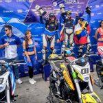 Isis Carreño ganó la primera fecha del Mundial Femenino de Velocidad