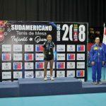 Josefina Lara entregó la última medalla para Chile en el Sudamericano Infantil Juvenil de Tenis de Mesa