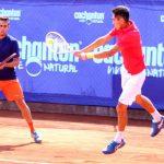 Juan Carlos Sáez y Alejandro Tabilo cayeron en cuartos de final de dobles del Challenger Cachantun Open