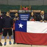 Rosario Díaz, Jorge Valderrama y Katina Proestakis suman medallas de bronce en el Panamericano Cadete y Juvenil de Esgrima