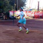 Nicolás Acevedo cayó en la primera ronda de dobles del Futuro 5 de Grecia