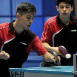 Nicolás Burgos y Andrés Martínez ganan medalla de oro en el Sudamericano Infantil Juvenil de Tenis de Mesa