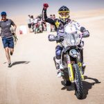 Pablo Quintanilla se tituló campeón del Rally de Abu Dhabi