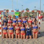 Chile cayó en su debut por el Panamericano Femenino de Balonmano Playa
