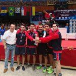 Chile logra una plata y un bronce en la competencia por equipos del Latinoamericano de Tenis de Mesa