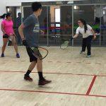 Jugadores de la Selección Junior de Racquetball se alistan para el Panamericano de Temuco