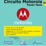 El Estadio Nacional recibe la primera fecha del circuito Motorola Travel Tenis