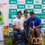 Alexander Cataldo se tituló campeón en singles y dobles del Perú Open