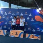 Amanda Cerna y Francisca Mardones ganan medalla de oro en la primera jornada del Open Loterías Caixa