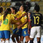 Brasil y Argentina triunfan en la cuarta jornada de la Copa América Femenina Chile 2018