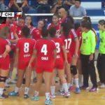 Chile cayó estrechamente ante Brasil en su debut por el Panamericano Juvenil Femenino de Handball