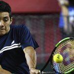 Christian Garin cayó luchando ante Diego Schwartzman en la serie de Copa Davis entre Chile y Argentina
