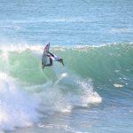 Maxi Cross y Jessica Anderson ganaron la cuarta fecha del Campeonato Nacional de Surf