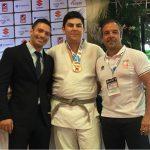 Francisco Solís ganó medalla de bronce en el Panamericano de Judo