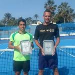 Juan Carlos Sáez se quedó con el vicecampeonato de dobles del Futuro 13 de Túnez