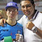 Ramón Mascareña derrotó al boliviano Eddy Salvatierra y consigue su primer título internacional