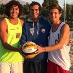 Duplas nacionales de volleyball playa jugarán en la cuarta etapa del clasificatorio a los Juegos Olímpicos de la Juventud