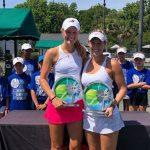 Alexa Guarachi se tituló campeona de dobles del ITF 80K de Charleston