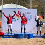 La equitación chilena debutó en Cochabamba con una medalla de oro y una de plata