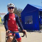 Aranza Villalón y Pablo Alarcón fueron los mejores chilenos en el cierre del ciclismo ruta en Cochabamba