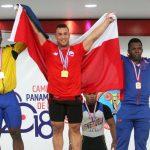 Arley Méndez se tituló tricampeón panamericano de levantamiento de pesas
