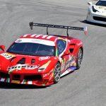 Benjamín Hites logró un quinto y cuarto lugar en la tercera fecha del Ferrari Challenge