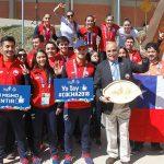 Este jueves se realizó la tradicional Ceremonia de las Banderas en la Villa Sudamericana