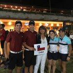 Chile ocupó el segundo lugar en dobles mixtos del Abierto de Golf Juvenil de Paraguay
