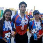 Chile suma tres nuevos bronces en el patín carrera de los Juegos Sudamericanos