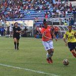 La Roja Femenina Sub 20 cayó ante Colombia en el debut del fútbol en los Juegos Sudamericanos