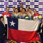 Chile suma dos medallas de oro en el Panamericano Juvenil de Gimnasia Rítmica
