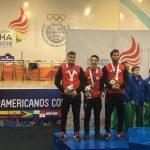 Chile gana medallas de plata y de bronce en nueva jornada de la esgrima en Cochabamba