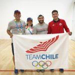 Chile suma triunfos en la competencia de racquetball de los Juegos Sudamericanos