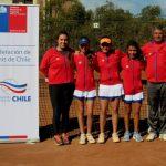 Equipo femenino nacional cayó ante Bolivia en el Sudamericano Sub 14 de Tenis