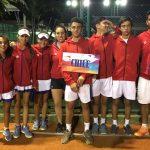 Chile obtuvo el cuarto lugar en la competencia masculina del Sudamericano Sub 14 de Tenis