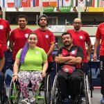 Chile obtuvo cuatro medallas de bronce en el Eslovenia Open de Tenis de Mesa Paralímpico