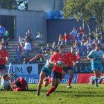"""Los """"Cóndores"""" logran histórico triunfo como visita ante Uruguay en el Sudamericano de Rugby"""