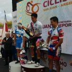 Cristopher Mansilla y Paula Villalón ganan medallas de bronce en la última jornada del Panamericano de Ciclismo de Ruta