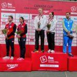 Donato Neglia y Alibet Noguera ganaron medalla de bronce en el Grand Prix de Calgary