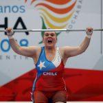 María Fernanda Valdés se queda con la medalla de oro del levantamiento de pesas en los Juegos Sudamericanos
