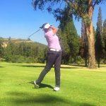 Natalia Villavicencio marcha séptima tras el primer día del golf en los Juegos Sudamericanos
