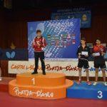 Nicolás Burgos obtiene medalla de bronce en el Spanish Junior & Cadet Open de Tenis de Mesa