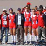 Chile suma dos nuevas medallas de oro en el cierre del remo en los Juegos Sudamericanos
