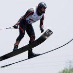 Rodrigo Miranda marcó un nuevo récord chileno de salto en torneo estadounidense