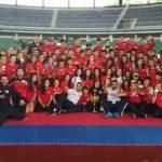 Chile obtuvo el tercer lugar del medallero en el Sudamericano de Karate 2018