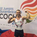 Tomás González clasifico a la final de suelo en la gimnasia de los Juegos Sudamericanos