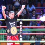 Erwin Adriazola derrotó al boliviano Ruben Cáceres en Alto Hospicio