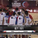 Chile derrota a Panamá y jugará por el quinto lugar del Premundial de Básquetbol Masculino U18